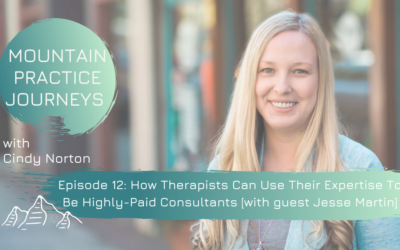 Episode 12: How Therapists Can Use Their Expertise To Be Highly-Paid Consultants [with guest Jesse Martin]